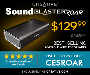 Sound Blaster Roar Coupon - $50 Off