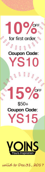 15% off when order over $50 in 2017,