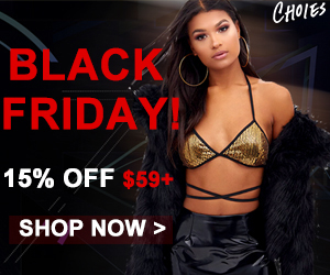 Annually Thrilling BLACK FRIDAY Promo! Up to 80% OFF EXTRA 15% OFF $59+! Just Grab it, Enjoy it and