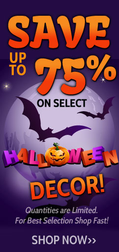 halloween decor save 75%