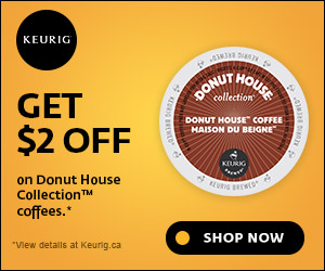 Get $2 OFF on Donut House Collection coffees