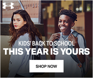 Shop UA Kids Back to School Gear + Free Shipping Available