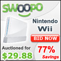 Bid on or Buy a Nintendo Wii on Swoopo!