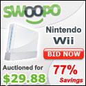 Bid on or Buy a Nintendo Wii on Swoopo!