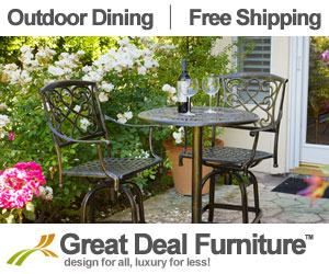 Bistro Table on Sale - Free Shipping