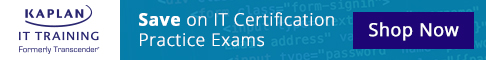 Save on IT certification practice exams