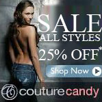 CoutureCandy 25% Off