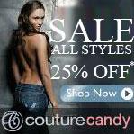 CoutureCandy 25% Off