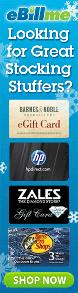 Gift Cards as Stocking Stuffers