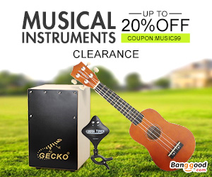 US Direct: Extra 20% Off For Musical Instruments Clearance