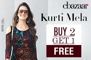 Kurti on a roll @ Buy 2 Get 1 Free!