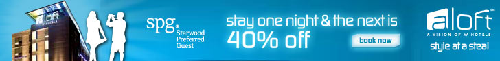 Stay one night, and the next is 40% off