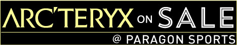 Arcteryx Sale @ Paragon Sports!