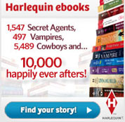 Harlequin eBooks - click here to save!