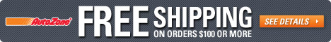 Free Shipping on orders over $100 from AutoZone.co