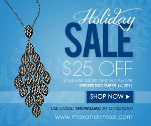Max & Chloe Holiday Sale 2011