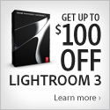 Adobe Save up to $100 on Lightroom 3
