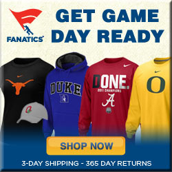 Shop for officially licensed College Game Day Gear