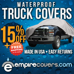 EmpireCovers 15% Off Truck Covers