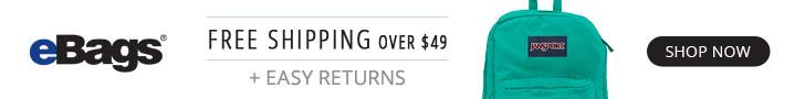 eBags Back to School Savings