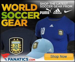 Shop 2014 World Soccer Argentina gear at Fanatics.com!
