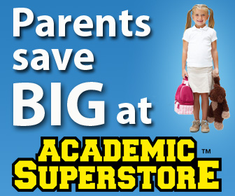 Parents Save Big at Academic Superstore