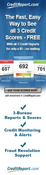 160x600 - Credit Monitoring – All 3 Bureaus