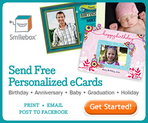 Send free personalized ecards from Smilebox.