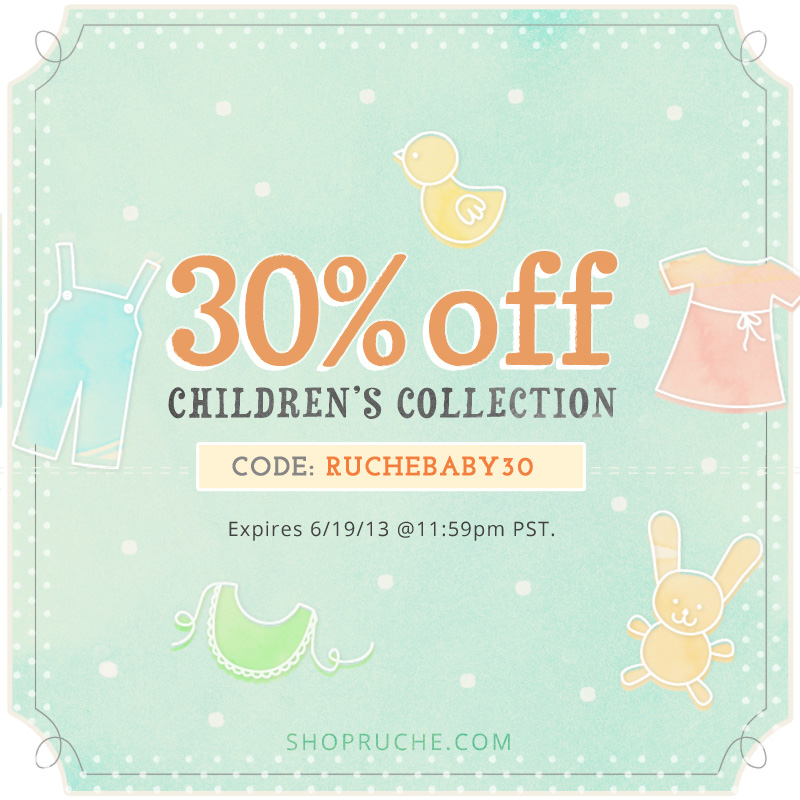 Ruche Baby Collection