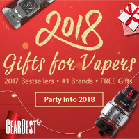 2018 E-Cigarettes Promotion: $10 OFF $120 + Orders