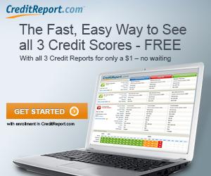 300x250 - Credit Monitoring – All 3 Bureaus