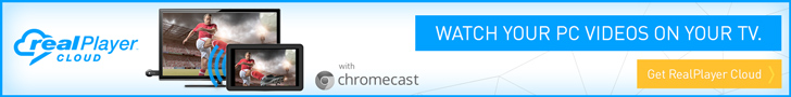 RealPlayer Cloud & ChromeCast