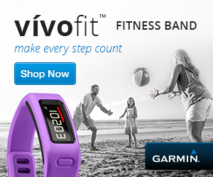 Live to Look Good and Feel Better: Garmin Vivofit Fitness Band