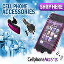 CellPhoneAccents.com Holiday Banners