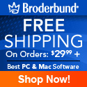 Free Shipping on Broderbund Products