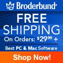 Broderbund Free Shipping 125x125
