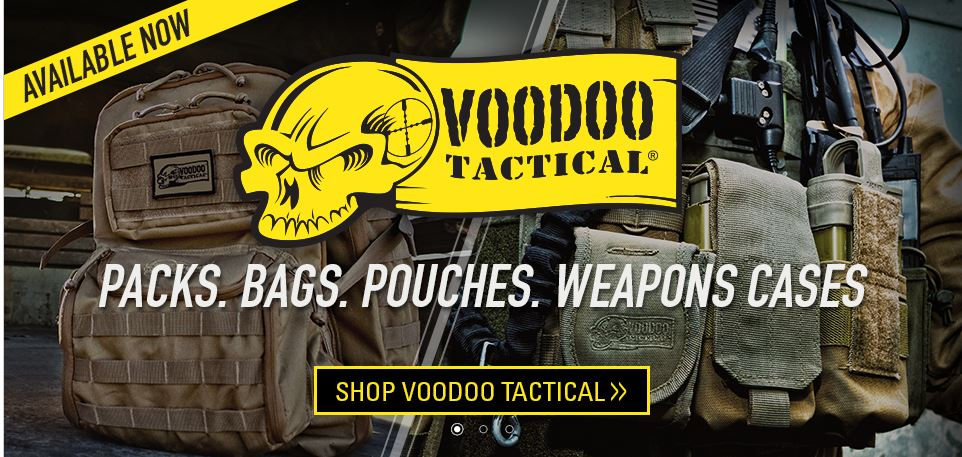 voodoo tactical bags at CHIEF supply