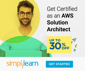 300x250 AWS Solution Architect Certification