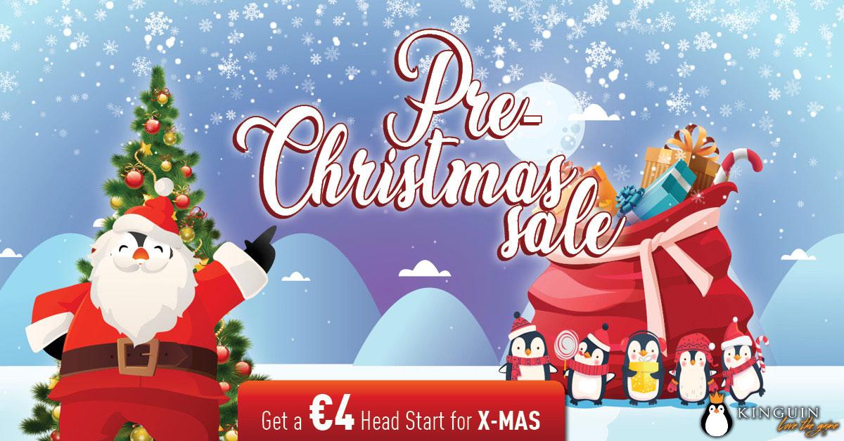 Grab €4 for X-MAS Sale