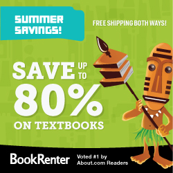 Save 75% on Textbooks!