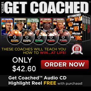 Get Coached Motivational DVDs only from Victor1!