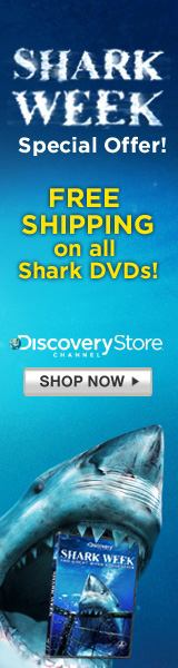 Free Shipping on Shark DVDs during Shark Week 2009