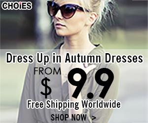 -Dress up in autumn dresses! Dresses starting from $9.9 + Free Shipping Worldwide. Shop CHOiES!-