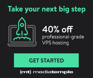 40% OFF Media Temple VPS Hosting