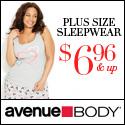 Avenue Body Plus Size Lingerie at Avenue.com!