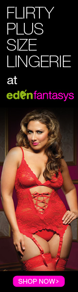 Flirty Plus Size Lingerie at EdenFantasys!