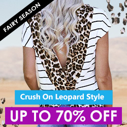 Up To 70% Off Crushing on Leopard Style