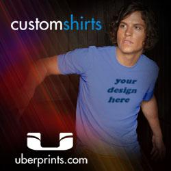 Create Custom Shirts at UberPrints.com