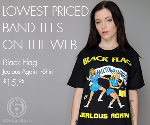 Black Flag Jealous Again $15.95