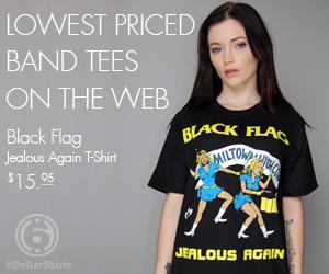 Black Flag Jealous Again $15.95